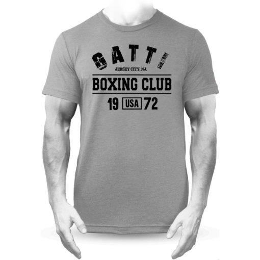 Gatti Boxing Club Grey Premium Men's T-Shirt