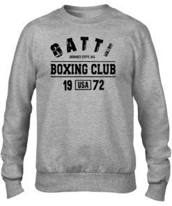 Gatti Boxing Club Grey Men's Premium Crew Sweater