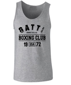 Gatti Boxing Club Grey Premium Vest/Tank Top