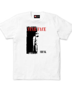 Chunk Star Face White T-Shirt