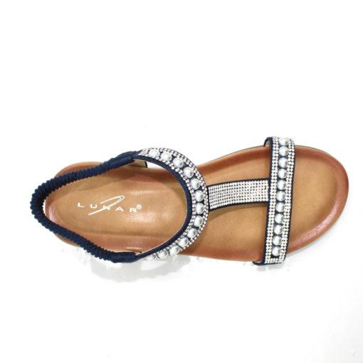 Lunar Tancy Pearl Sandal Navy