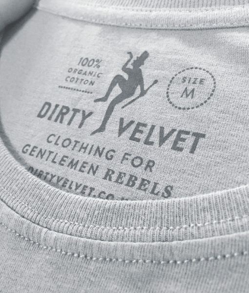 Dirty Velvet Losing Your Marbles Graphic Tee - Highrise Grey