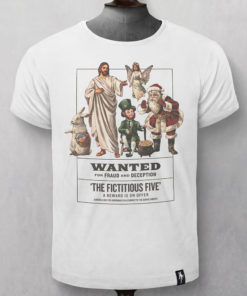 Dirty Velvet Fictitious Five Graphic Tee - Vintage White