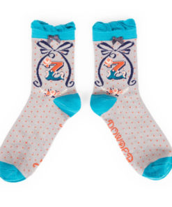 Powder Alphabet Monogram Bamboo Ladies Socks 'Z'