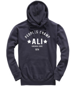 Muhammad Ali Rumble In The Jungle Petrol Hoodie