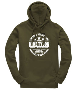 Iron Mike Tyson Catskill Boxing Club Olive Premium Hoodie