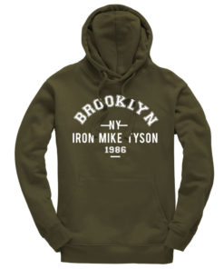 Iron Mike Tyson Brooklyn Olive Hoodie