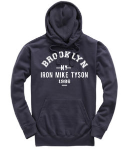 Iron Mike Tyson Brooklyn Petrol Hoodie