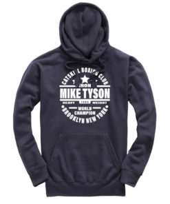 Iron Mike Tyson Catskill Boxing Club Petrol Premium Hoodie