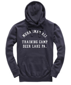 Muhammad Ali Deer Lake Training Camp Boxing Petrol Premium Hoody