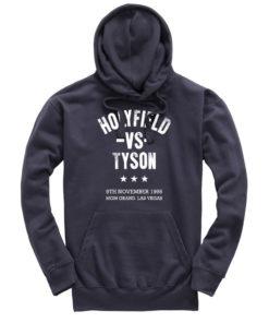 Holyfield V Tyson Boxing Fight Vegas Petrol Men's Premium Hoodie