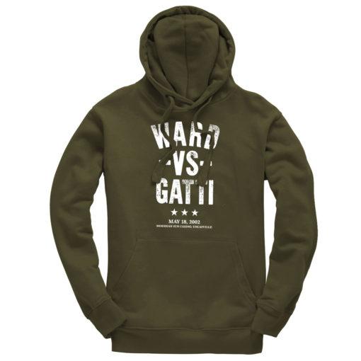 Ward V Gatti Boxing Fight Olive Men's Premium Hoodie