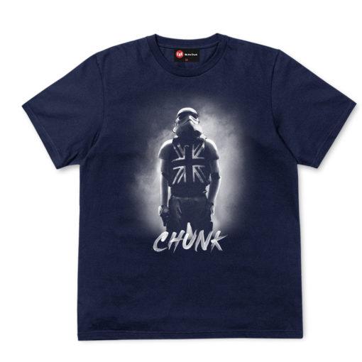 Chunk Navy T-Shirt Union Jack