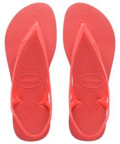 Havaianas Womens Sunny II Coral New Flip Flops