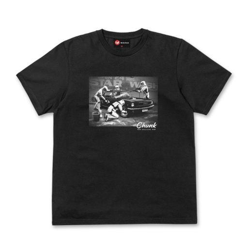 Chunk Star Wash Black T-Shirt