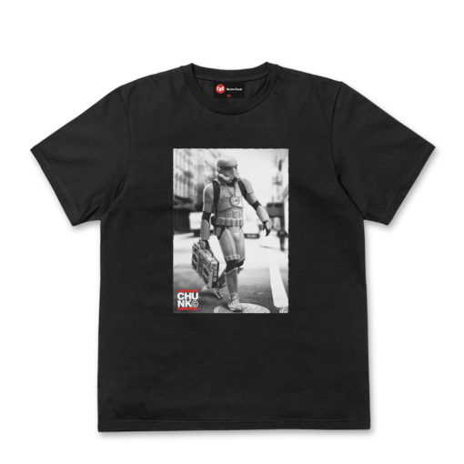 Chunk Boombox Trooper Black T Shirt