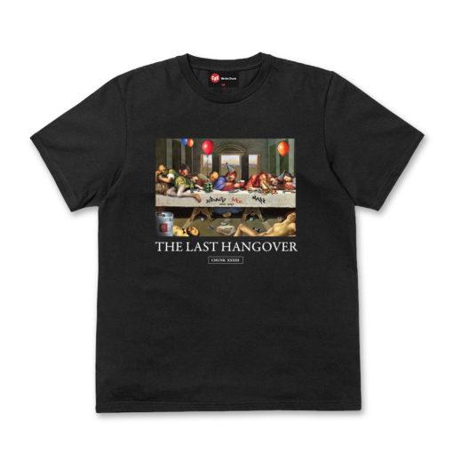 Chunk The Last Hangover Black T Shirt